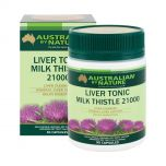 Australian by Nature Liver Tonic Milk Thistle 21000mg 90 Capsules ABN00619
