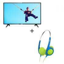 Philips - 32吋 全高清超薄LED智能電視 32PHD5773 (香港行貨) 送小童耳機SHK1030 (隨機顏色