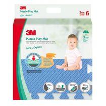 3M™ 兒童安全地墊-方塊型 (藍色)
