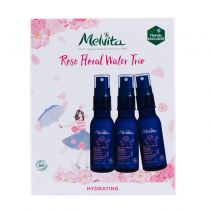 melvita rose floral water trio