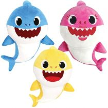 Pinkfong - Baby Shark Singing Plush ( Daddy + Mommy + Baby shake) - 25cmHH20190628A14