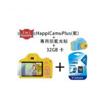 VisionKids - (3 in 1 Bundle)HappiCAMU+-Blue JP053_Bundle