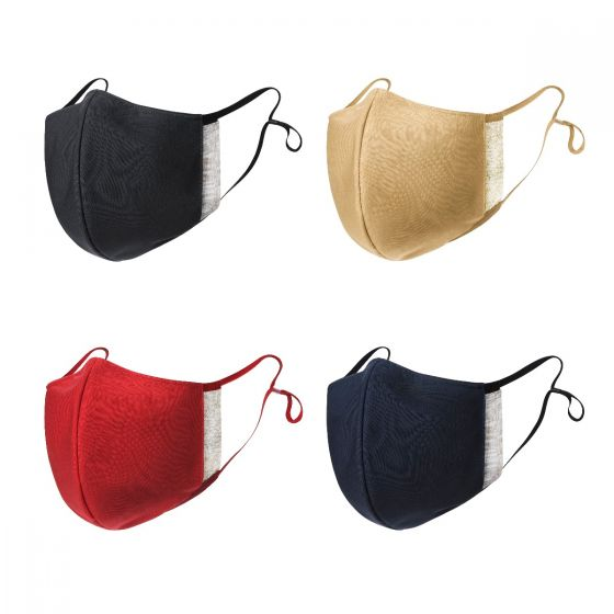 Knitwarm®抗菌銀離子成人口罩 (3D免剪裁無縫針織 海洋膠原蛋白胜肽纖維制作)