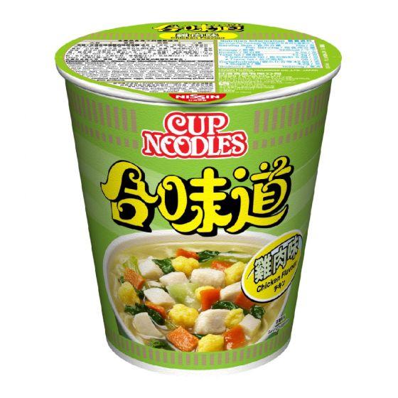 日清 - 合味道杯麵雞肉味[原箱] 1001-001-102