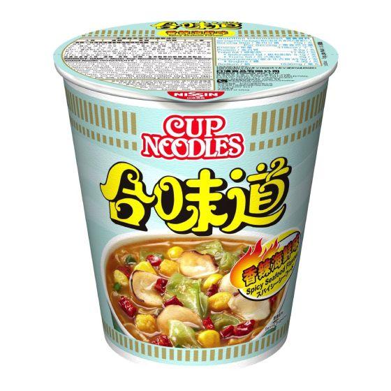 日清 - 合味道杯麵香辣海鮮味[原箱]