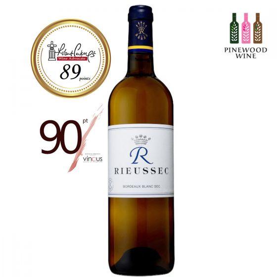 R de Rieussec - Blanc 2015, RP 89