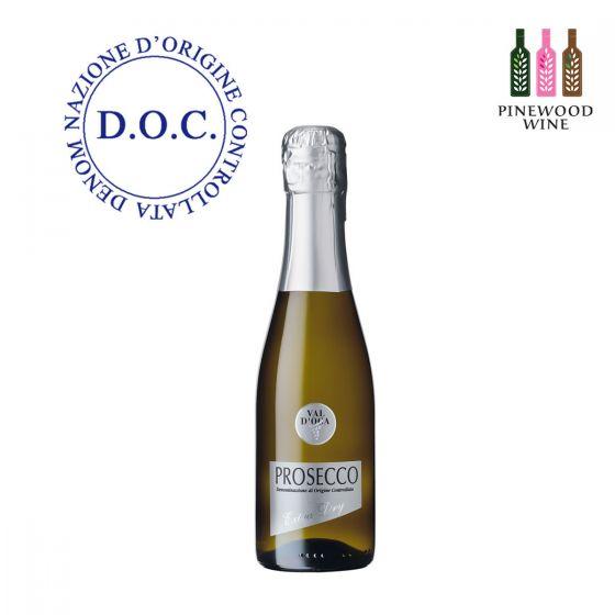 10218406 Val d'Oca - BIRILLINI ARGENTO Prosecco DOC Millesimato Extra Dry 意大利法定產區單一年份微甜氣泡酒 200ml x 3