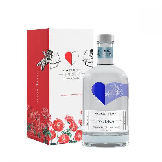 Broken Heart - Vodka 40% alc. 700ml [禮盒]