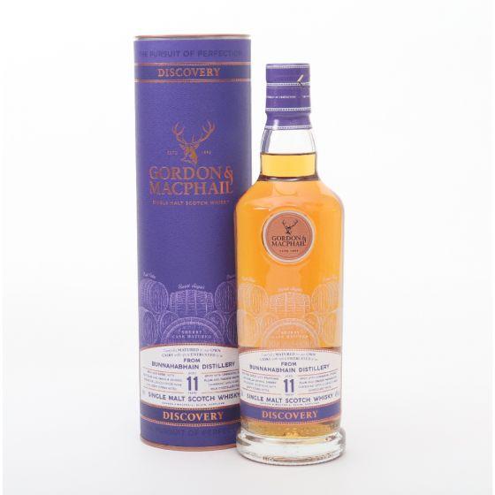 Gordon & Macphail Bunnahabhain 11 y.o. 威士忌 700ml x 1 支 (送1隻Glencairne Whisky Glass) - 數量有限