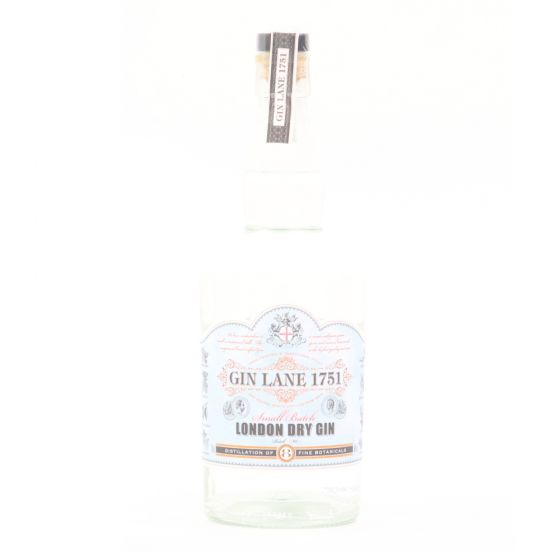 Gin Lane 1751 London Dry 40% 氈酒 - 700ml x 1 Bottle (送1隻 Spirit Glass - 數量有限