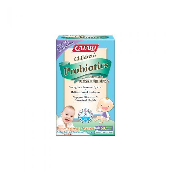 Catalo 兒童益生菌強健配方 60粒 catalo3306