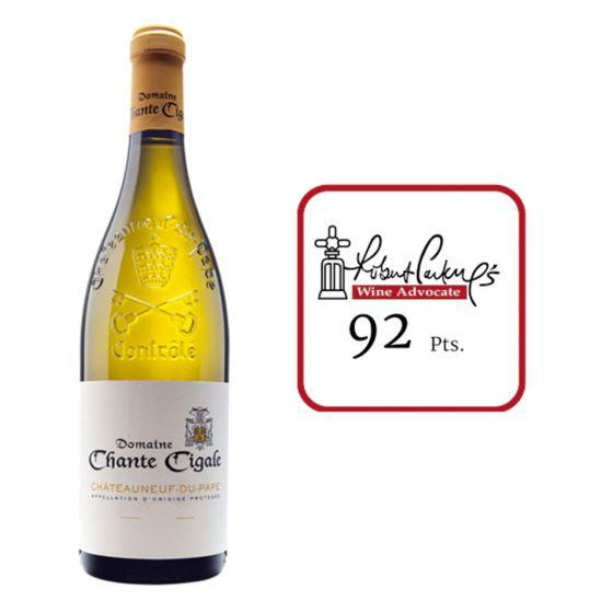 Domaine Chante Cigale - Domaine Chante Cigale Blanc 2017 RP92 3760118230375-1