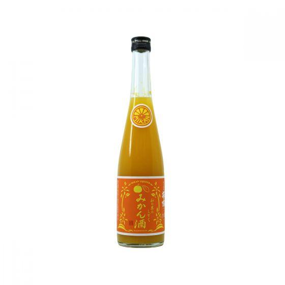 萩乃露 - 蜜柑果酒 500ml x 1支 4984133404514