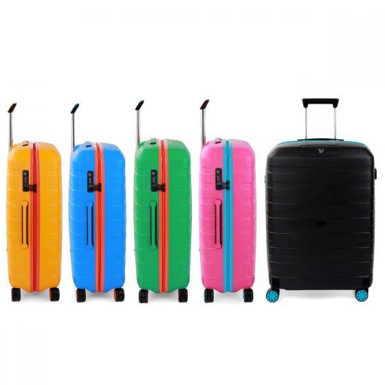 RONCATO - BOX YOUNG MEDIUM SPINNER 69 CM -  27寸 行李箱 (5色)(100%意大利製造)