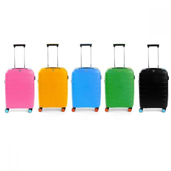 RONCATO - BOX YOUNG CABIN TROLLEY 55CM - 21寸 行李箱 (5色)(100%意大利製造)