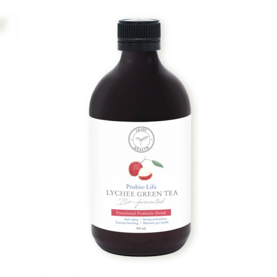 INJOY 荔枝抗氧益生飲 健康美味 口感絕佳 新一代營養益生菌飲品 每月一樽