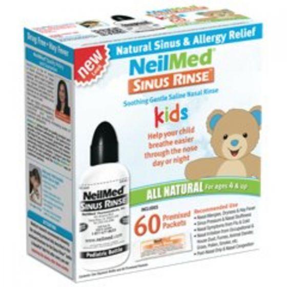 NeilMed 兒童洗鼻天然套件60 預混包705928003002