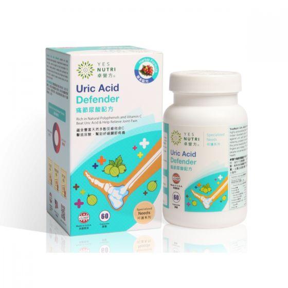 卓營方 - 痛節尿酸配方 (60粒裝) 761778223304