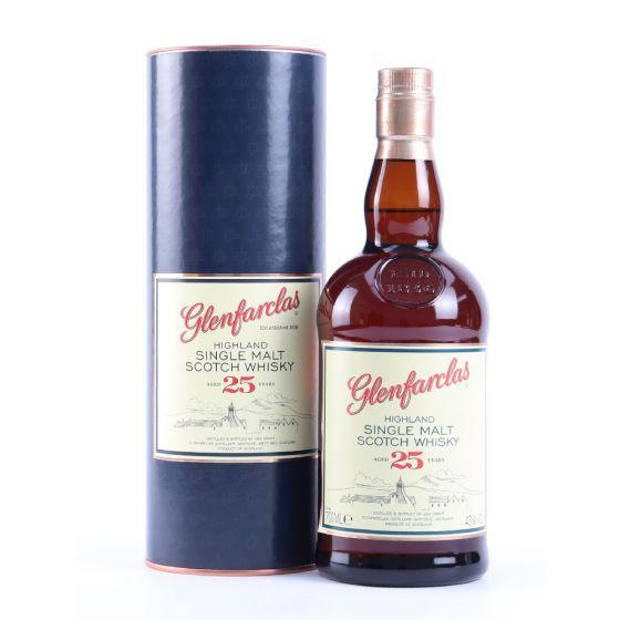 Glenfarclas 25 y.o. 格蘭花格25年威士忌700ml x 1支(送1隻Glencairne Whisky Glass)-數量有限,送完即止)