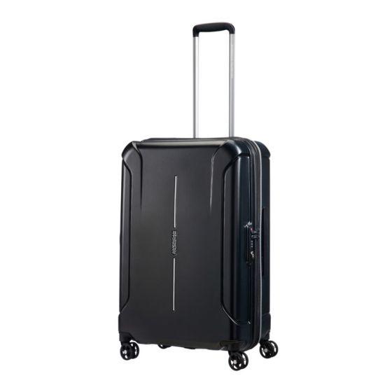 American Tourister - Technum 68厘米/25吋行李箱 (鑽石黑)