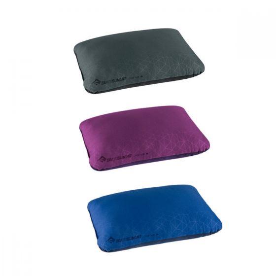 SEA TO SUMMIT - 吹氣枕頭 Foamcore Pillow Large APILFOAML (Grey/Magenta/Navy) 9327868_L_API