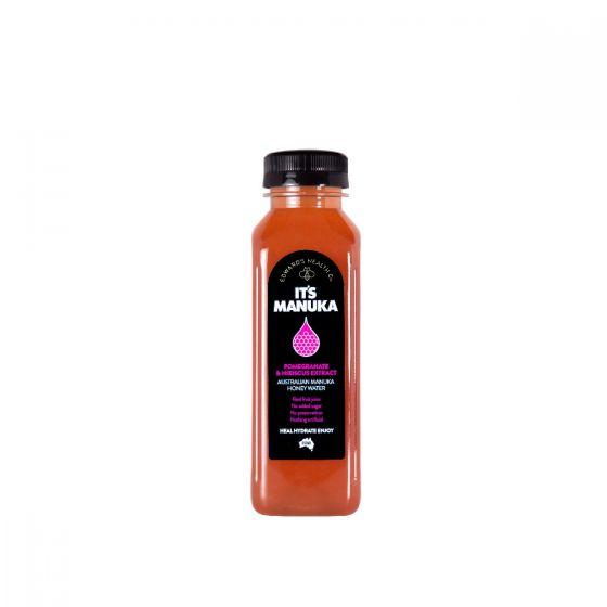 IT'S MANUKA - 天然麥盧卡蜜糖飲品(紅石榴洛神花) 9352365000036