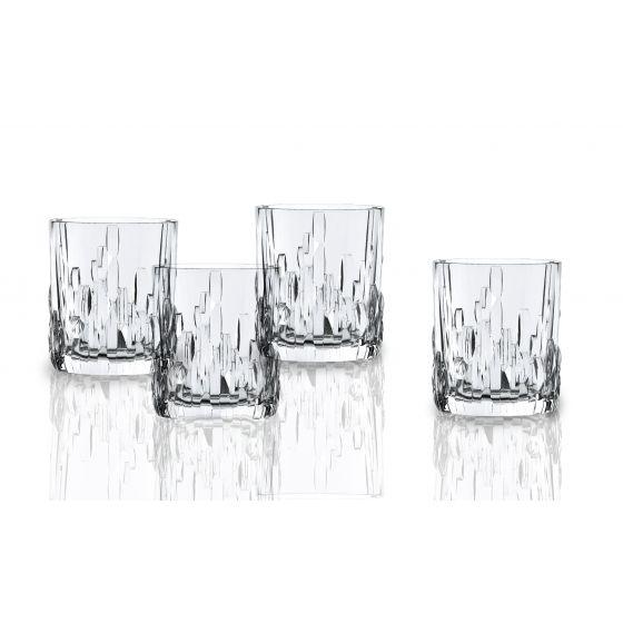 Nachtmann Crystal 書法威士忌杯 (一套4隻)