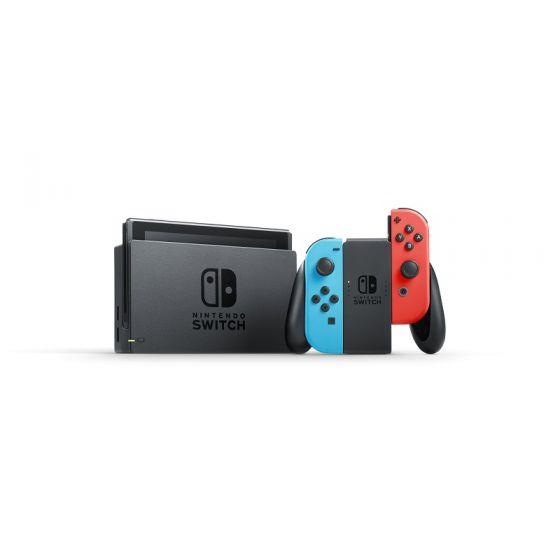 Nintendo Switch (電光藍/電光紅) (原裝行貨)