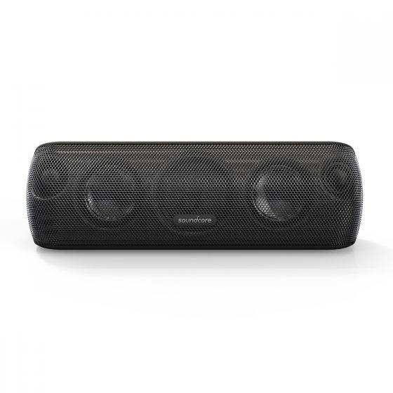 Anker - SoundCore Motion+ 30W Hi-Res Bluetooth Speaker (Black) A3116