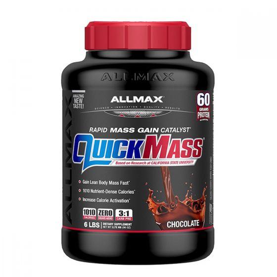 ALLMAX Quickmass 快速增肌粉 6磅 - 朱古力 AMXQMMGPCHO6LBS
