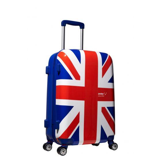 Antler Union Jack 2 24吋藍色行李箱 Antler_004