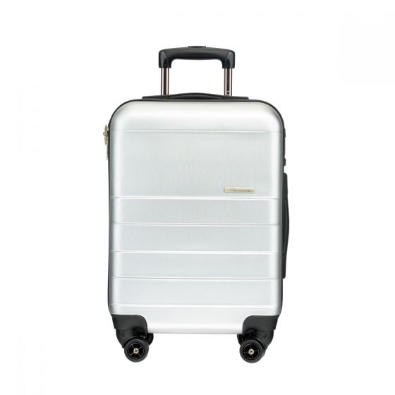 """LE MAURICE - Capsule Series 20"""" Suitcase Silky Silver APC0183-28-JH005"""
