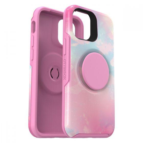 Otter+Pop Symmetry 炫彩幾何 + 泡泡騷系列保護殼 - iPhone 12 mini