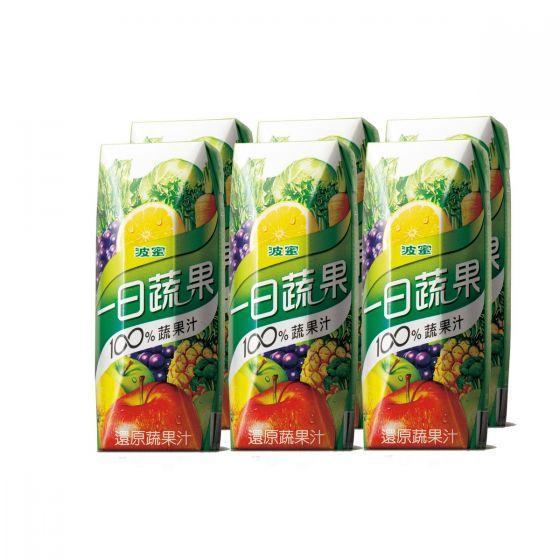 波蜜 - 一日蔬果汁(菠蘿底) BM0250PIABMTPIN06