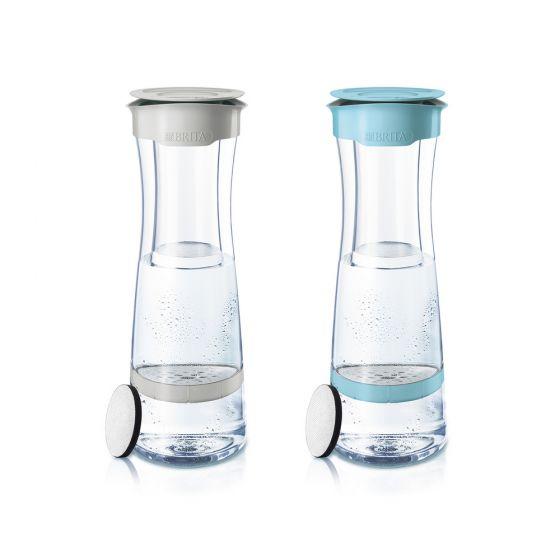 BTA-1027600-MO BRITA - Mind時尚濾水瓶(白色/藍色)