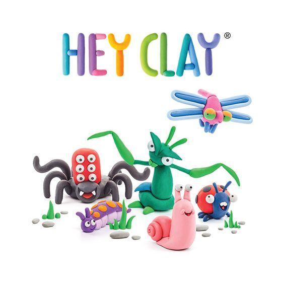 HEY CLAY 粘土創造 CREATE & PLAY  APPS - 昆蟲款