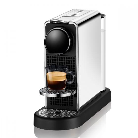 Nespresso - C140 Citiz Platinum Coffee Machine (Stainless Steel / Titan) C140_Citiz
