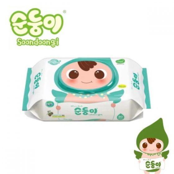 頂級實惠嬰兒濕紙巾80片 C8809345950405