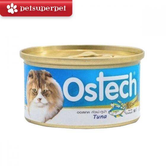 Ostech - 【原箱優惠】泰國吞拿魚貓罐 (24罐) - 80g x 24 CDOST24M168