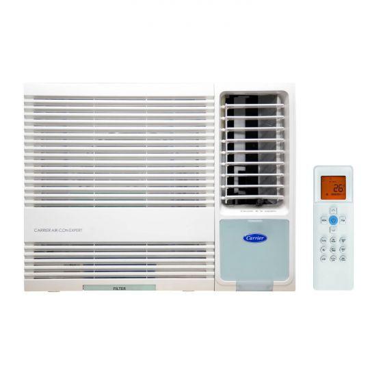 Carrier 開利- 「專門店」CHK12EPE 1.5匹[淨冷抽濕遙控型]窗口式冷氣機
