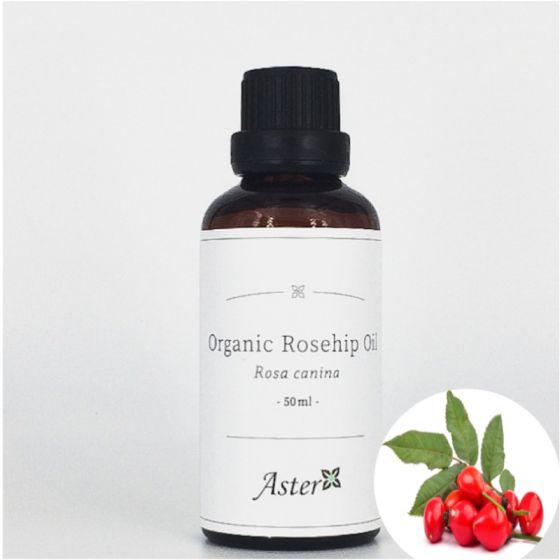 Aster Aroma 有機玫瑰果油 (Rosa canina) - 50ml CL-010040100O