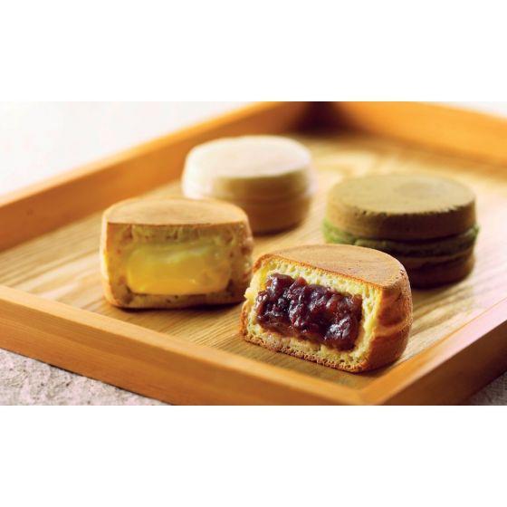 sweets house Cha Cha – 日式大判燒禮盒 (指定5款口味) (1盒) CR-City-Oobanyaki01