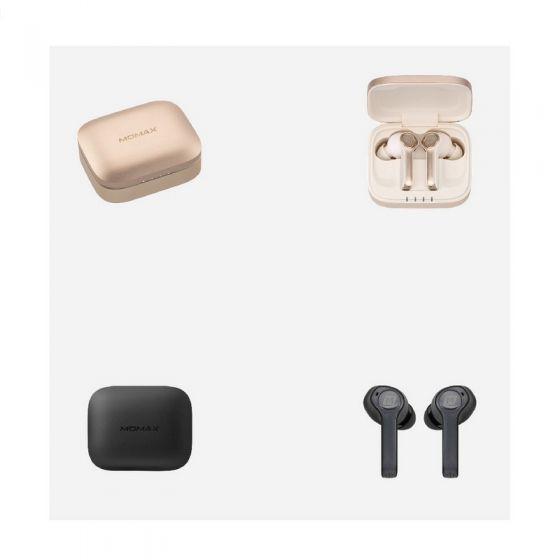 Momax Spark 真無線藍牙耳機及充電盒 (金色/灰色) CR-MM_SPARK-O2O