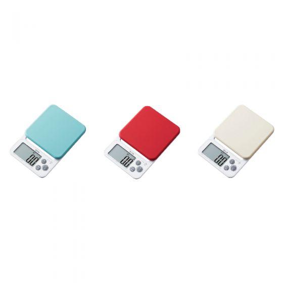TANITA 電子廚房磅 (KJ-212) (白色/紅色/淺藍色) CR-TANITA-KJ212