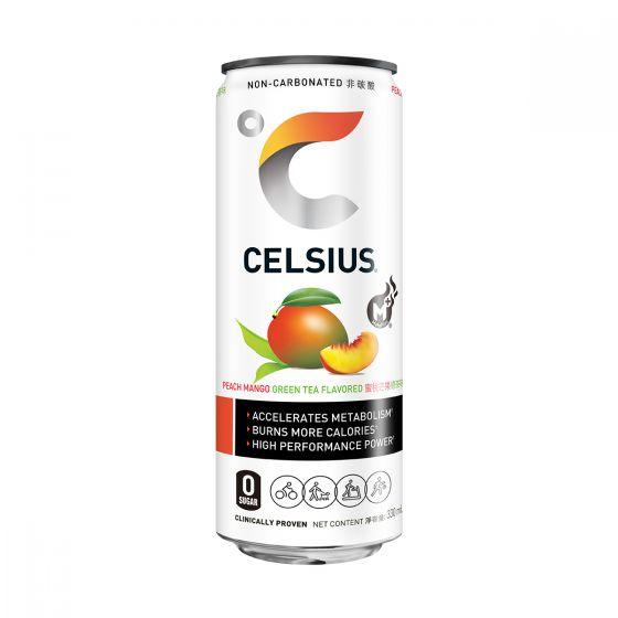 Celsius 高咖啡因能量飲品 330ml - 桃芒果綠茶 CSSHCRENDRPMGT330ML