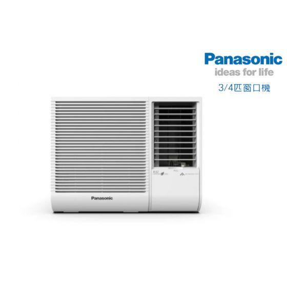 Panasonic 樂聲牌 R32雪種窗口式空調機 (3/4 匹) CWN719JA CWN719JA