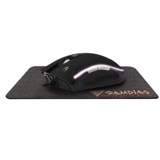 GAMDIAS Zeus E2 光學電競滑鼠 (有線) 連滑鼠墊