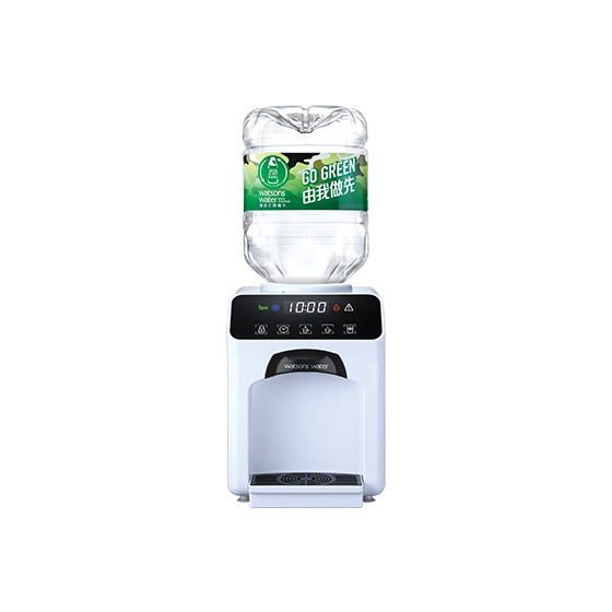 屈臣氏蒸餾水 - 家居水機 - Wats-Touch冷熱水機 (白) + 8公升樽裝蒸餾水 x 48樽(電子水券) EA034041W24I