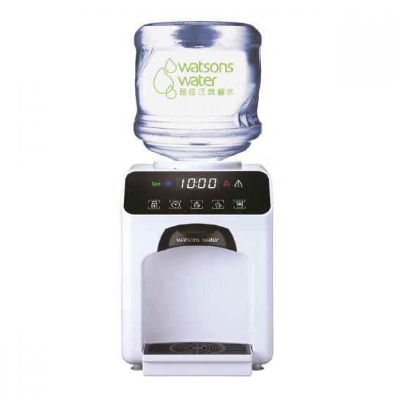 屈臣氏蒸餾水 - Wats-Touch冷熱水機 (白) +12公升家庭裝蒸餾水(電子水券) EA034041W40J