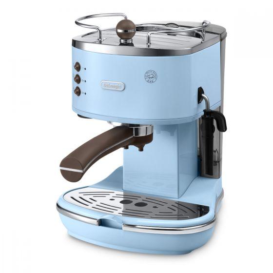 De'Longhi - 半自動咖啡機 ECOV311 (優雅白/ 海洋藍)